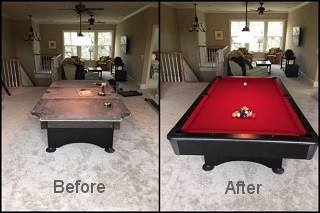 expert pool table recovering in Aberdeen content img3